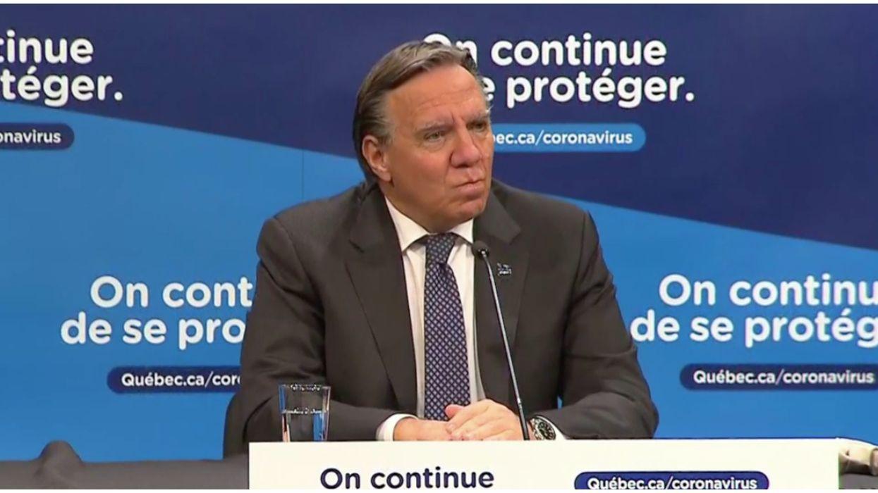 Il y a un « relâchement général » au Québec selon François Legault