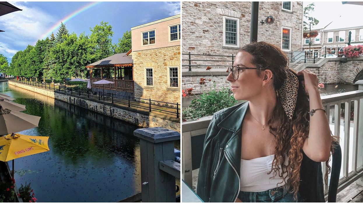 Ontario's Three-Storey Patio On A River Will Make You Feel Like You're Dining In Venice