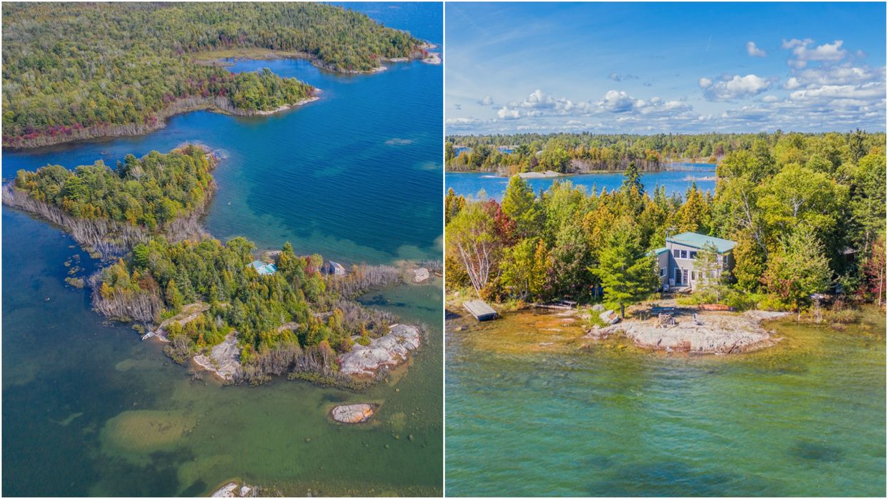 A Stunning Private Island Is For Sale In Ontario & It's Cheaper Than A City Condo