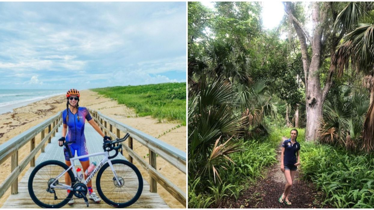 Florida Hiking Castle Windy Trail Gives You Ocean Views Of Canaveral National Seashore