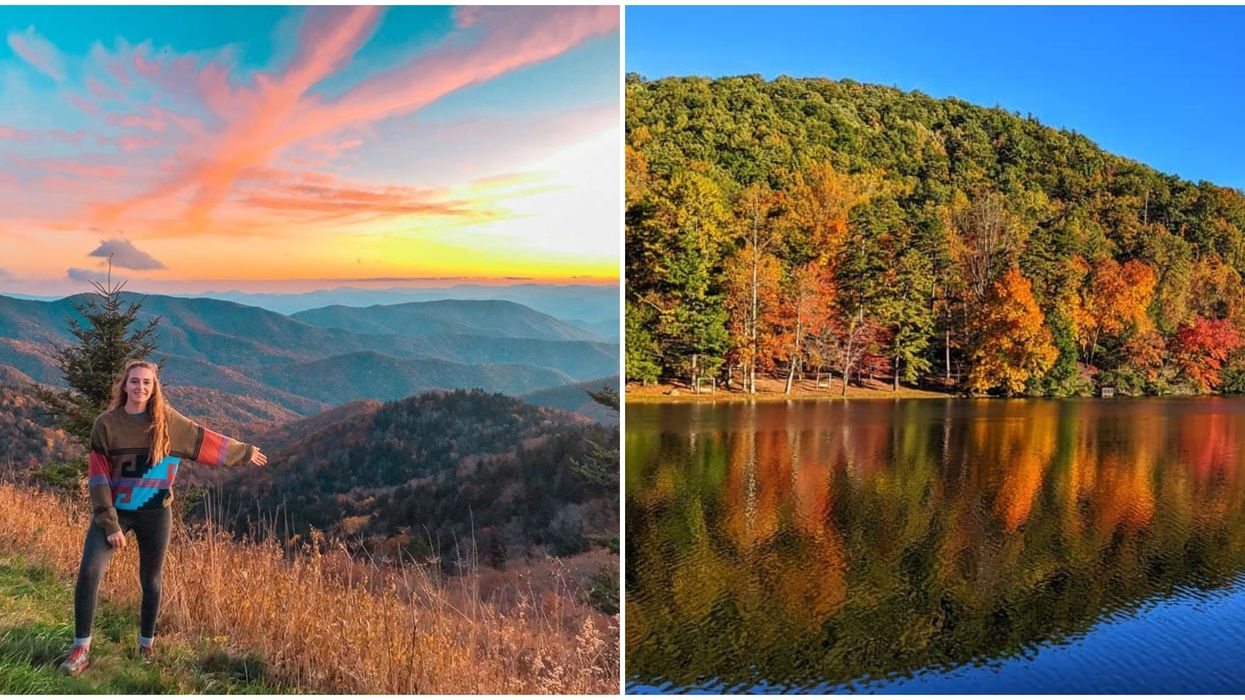 Georgia Fall Road Trip Ideas That'll Lead You To Incredible Fall Foliage Views