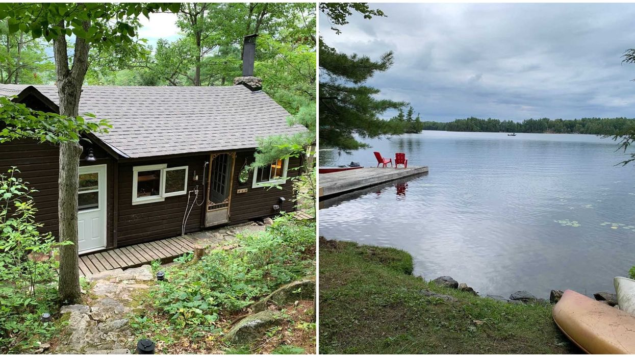 This Tiny Waterfront Cottage Is A Dream Getaway In Ontario for $450K