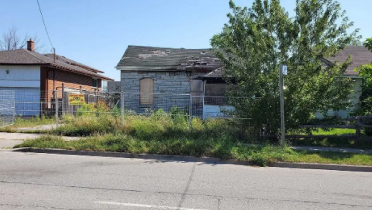 Toronto House For Sale Got Demolished By A Fire & Is Now Selling For $1 Million