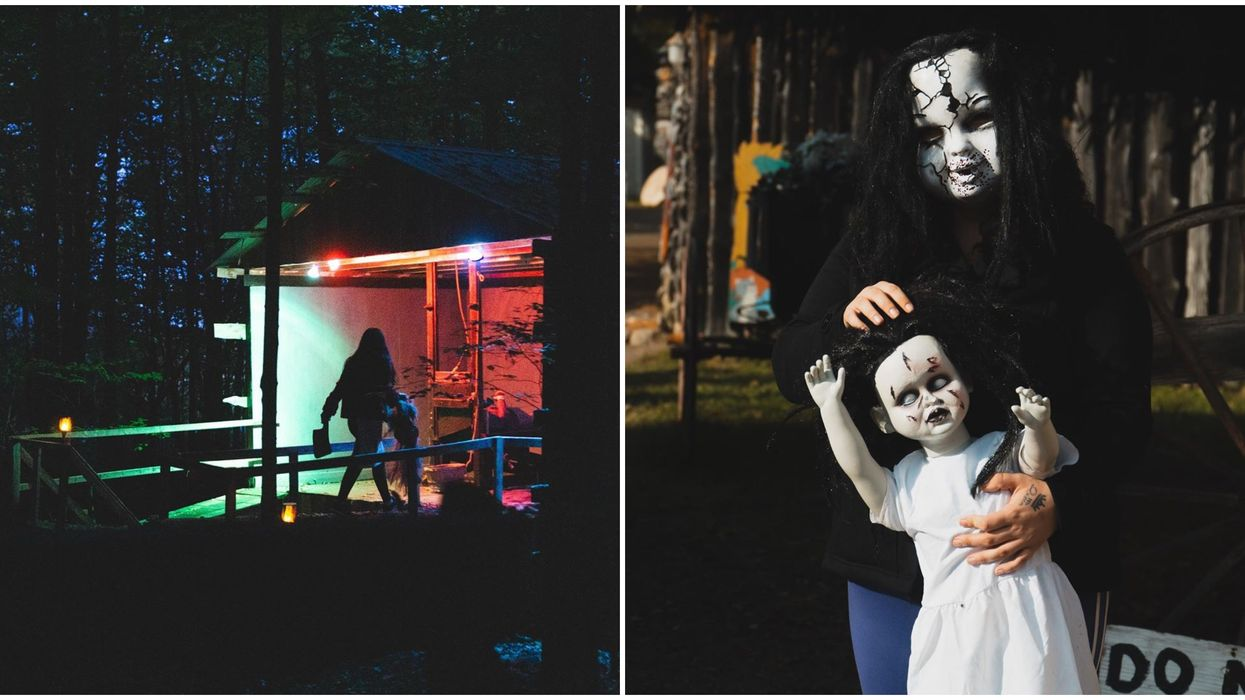 Ontario's Haunted Orchard Opens This Month & It Looks Scarier Than Ever