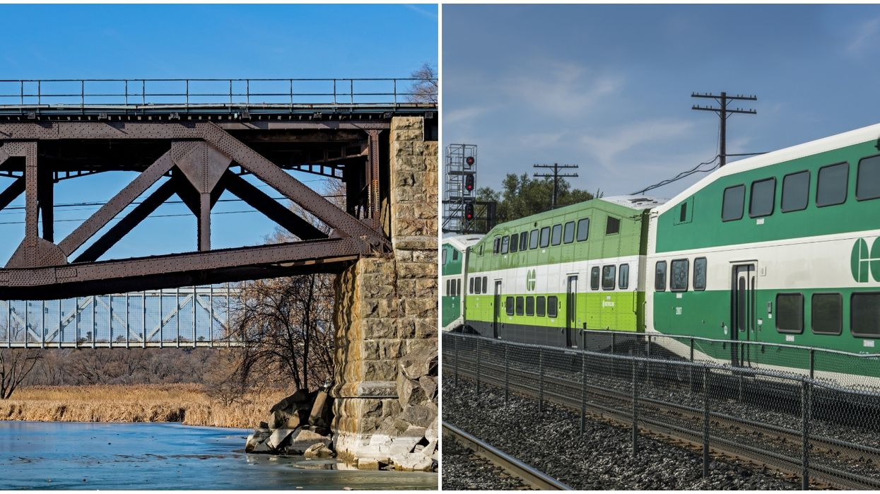 Metrolinx Sees Rise In People Walking On Tracks, Jumping Off Bridge