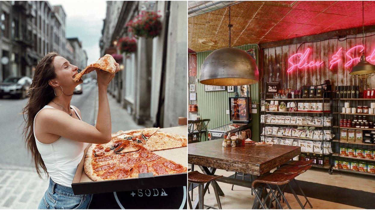 Ce resto qui débarque au Mile-End sert des pointes de pizza à 5 $ plus grosses que ta tête