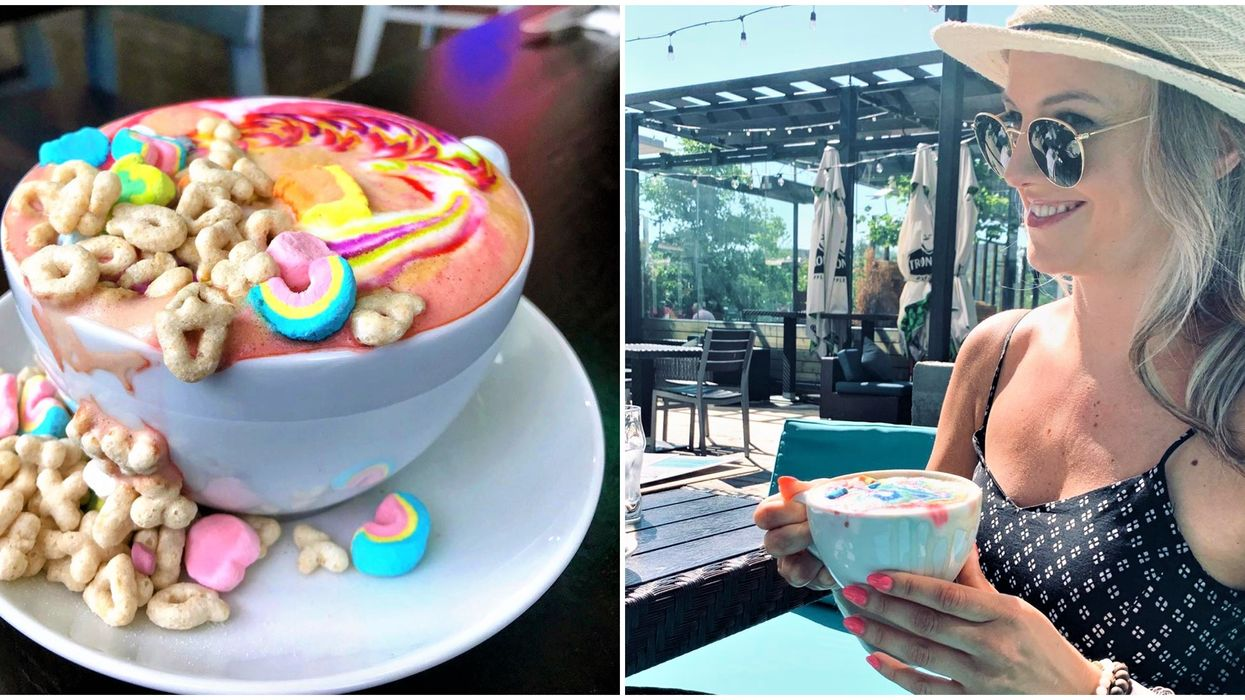 This Toronto Cafe's Cereal Lattes Will Have You Feeling Like A Kid Again