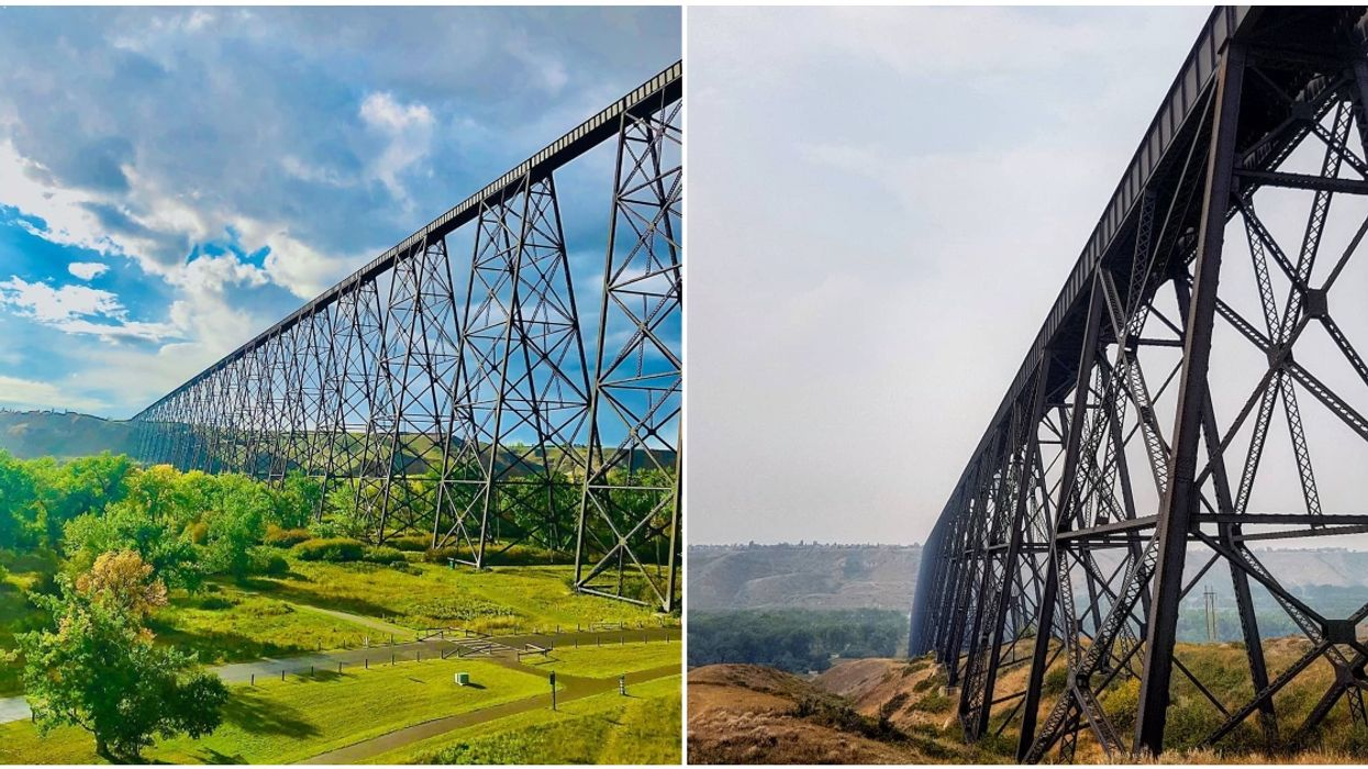 The Longest & Highest Trestle Bridge In The World Is Just A Short Drive From Calgary