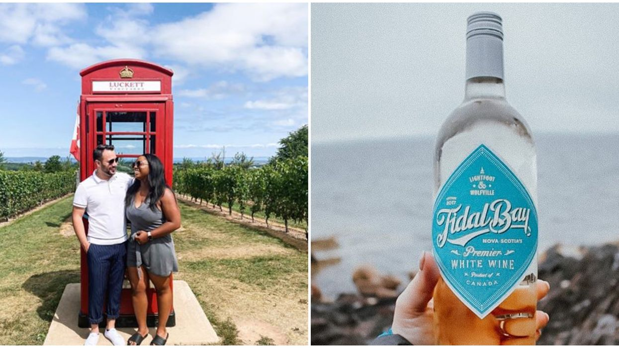 Nova Scotia's Signature Wine Is A Real Thing & It Gets Its Name From The Bay Of Fundy
