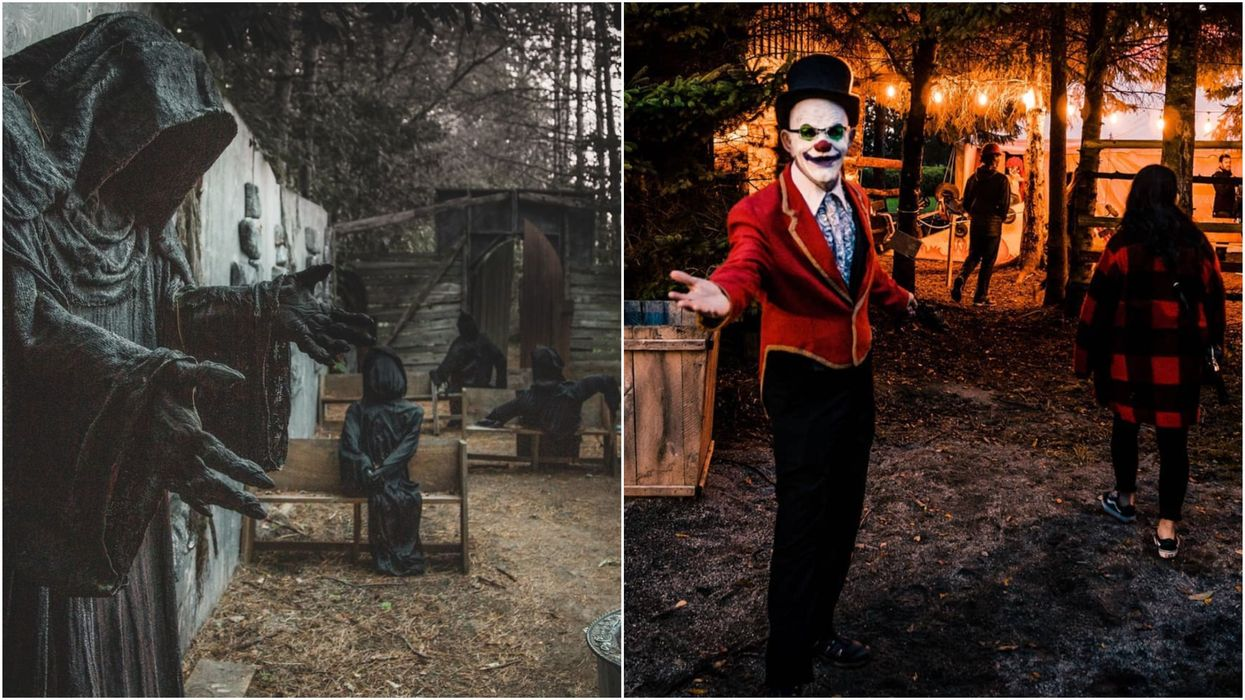 Ottawa's Terrifying Halloween Festival Is Back & The Motto Is 'We All Wear Masks'