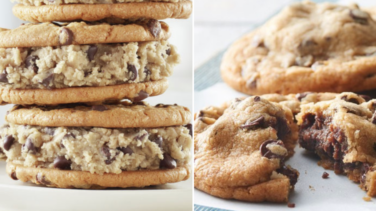 Pillsbury Canada Has Launched A New Cookie Dough That You Can Eat Totally Raw