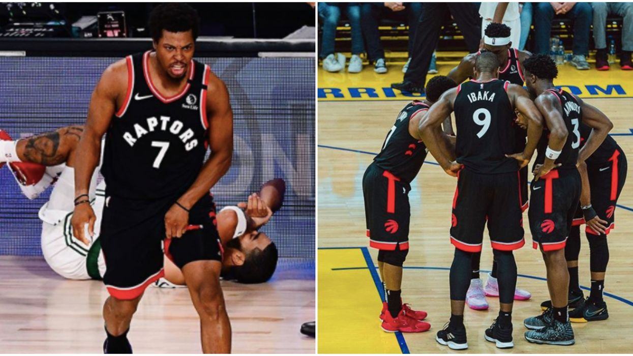 Ibaka And Lowry Had A Heated Moment Yesterday & VanVleet Had To Step In (VIDEO)