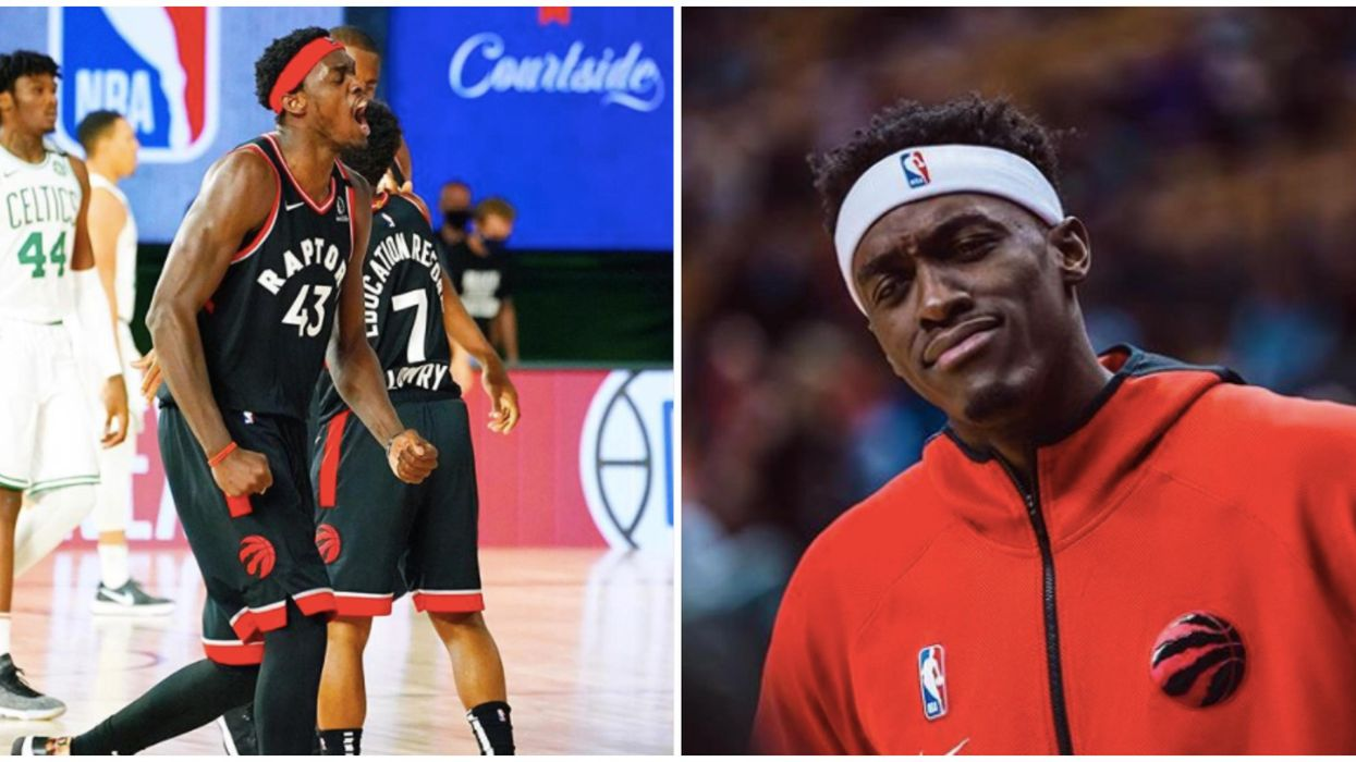Pascal Siakam Kicked A Boston Celtic In The Face Last Night & Twitter Can't Get Enough