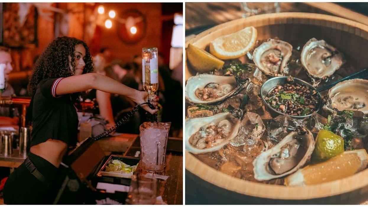 Jack Saloon Dix30 offre des huitres à 1 $ avec un drink à 5 $ sur la Rive-Sud de Montréal