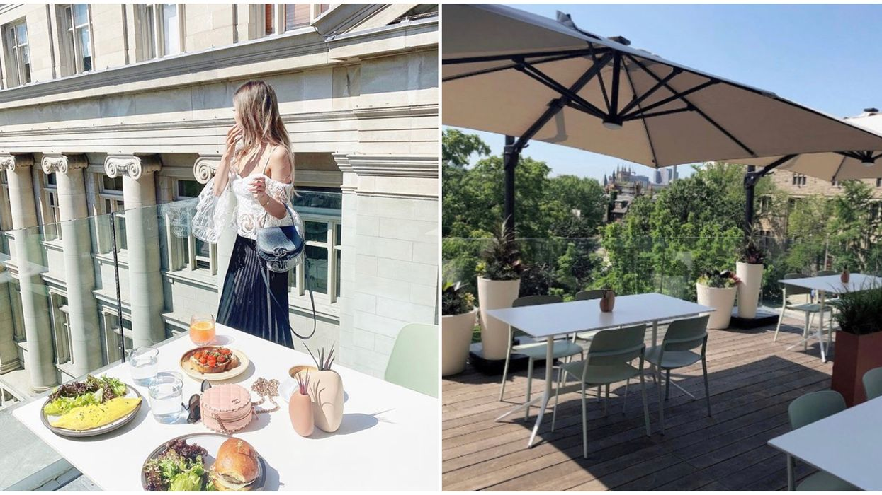 Toronto's Clay Restaurant Rooftop Patio Lets You Dine In Europe