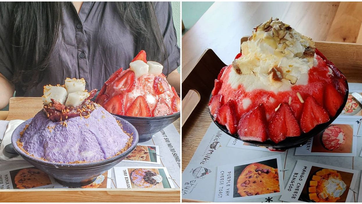 You Can Get Mountains Of Dessert At This Korean Cafe In Seattle