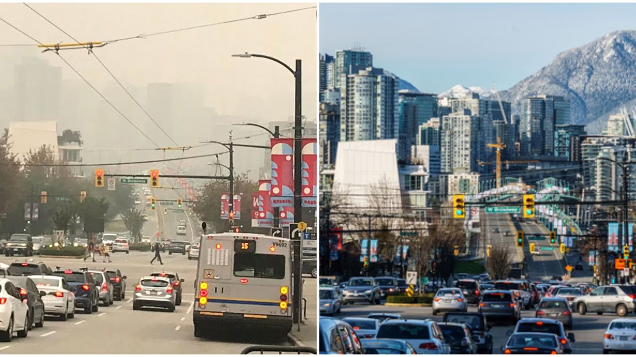 BC's Air Quality Is Among The Worst In The World Right Now (PHOTOS)