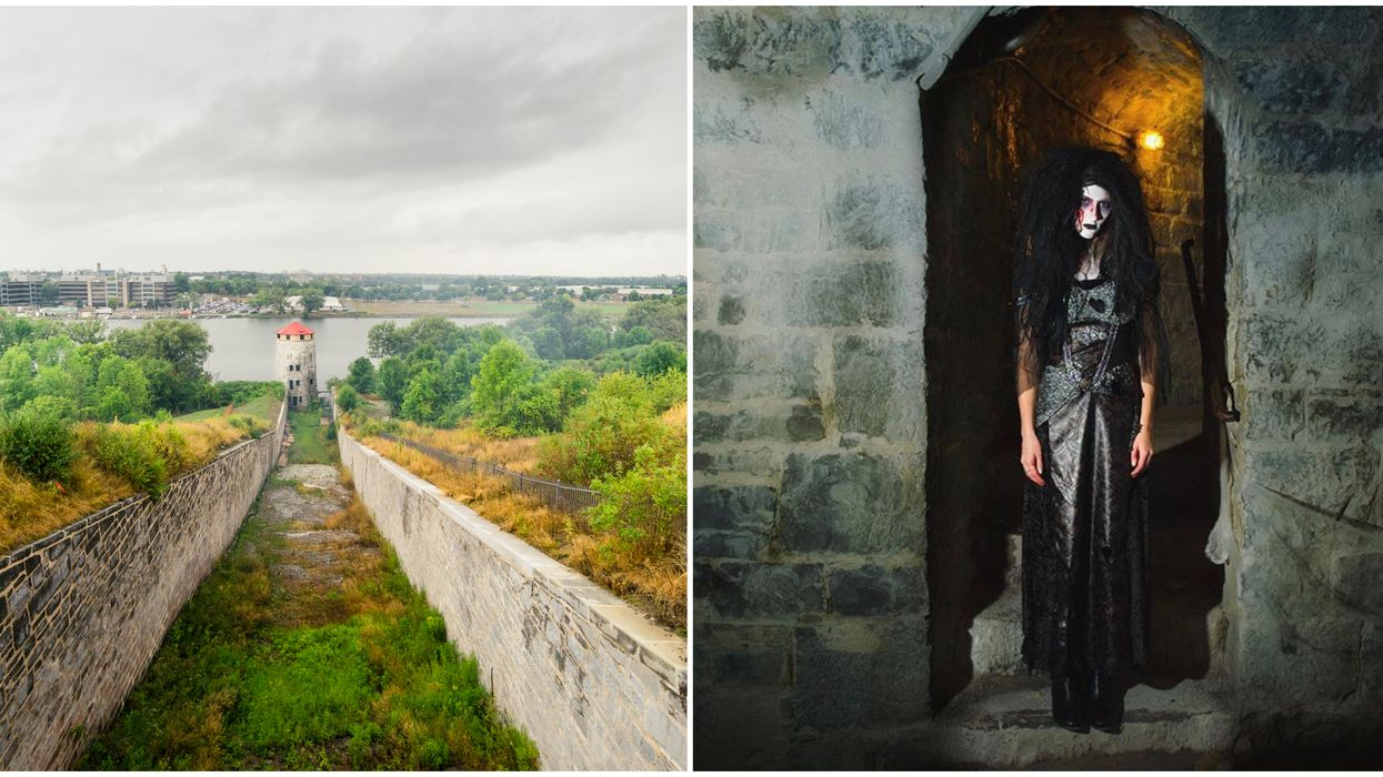 Ontario's Fort Fright Is Back This Season & It's Haunted In Real-Life