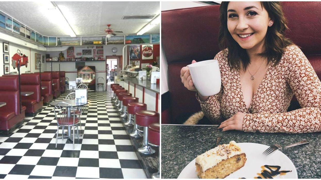 The Most Retro Diner Is Hidden Outside Of Calgary & It's A Total Bucket List Experience