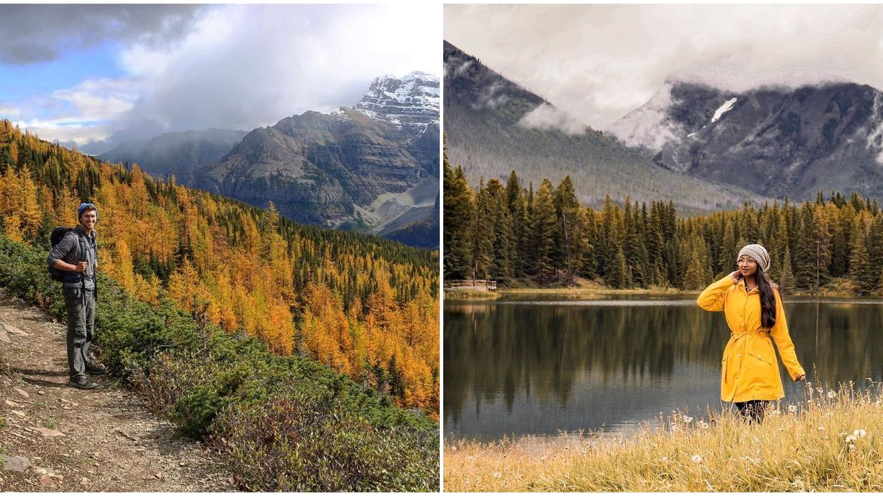 9 Fall Hikes Near Banff Everyone Needs To Experience At Least Once