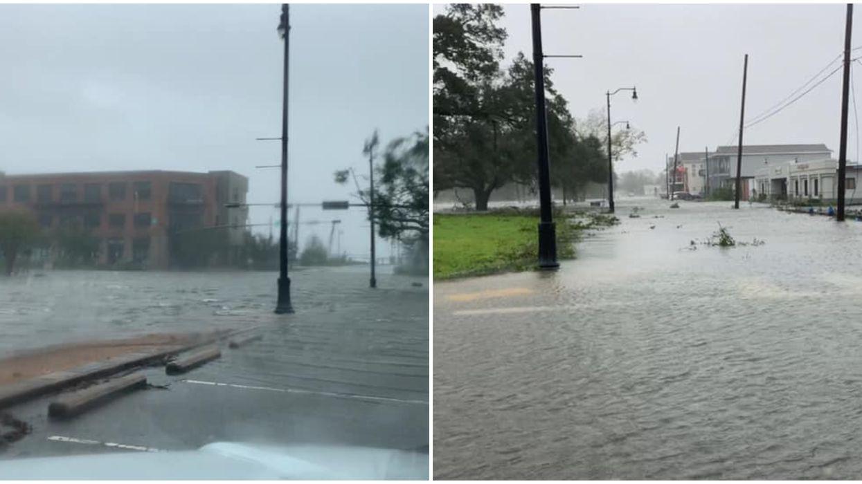 Hurricane Sally Flooding Pensacola Photos