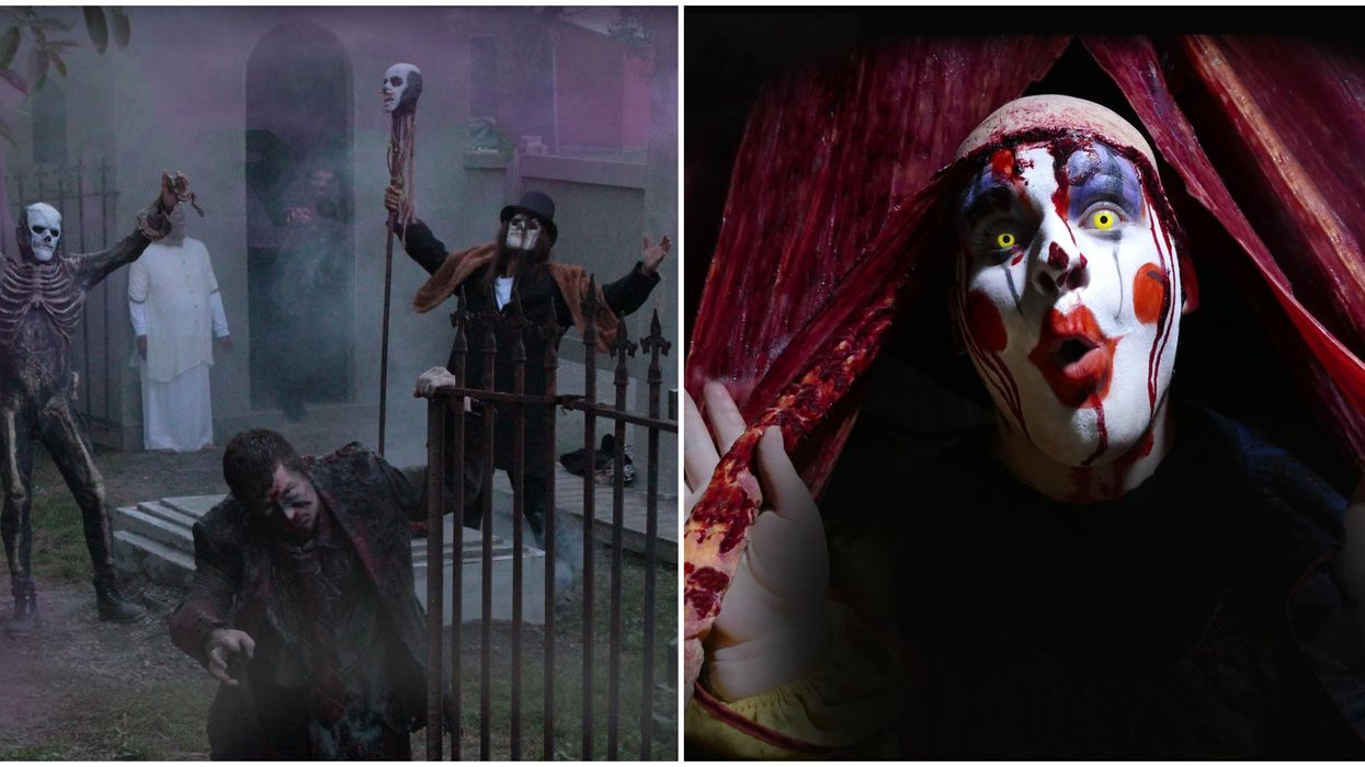 Ontario's Haunt Manor Is Reopening Next Month & It's Canada's Largest Haunted Attraction