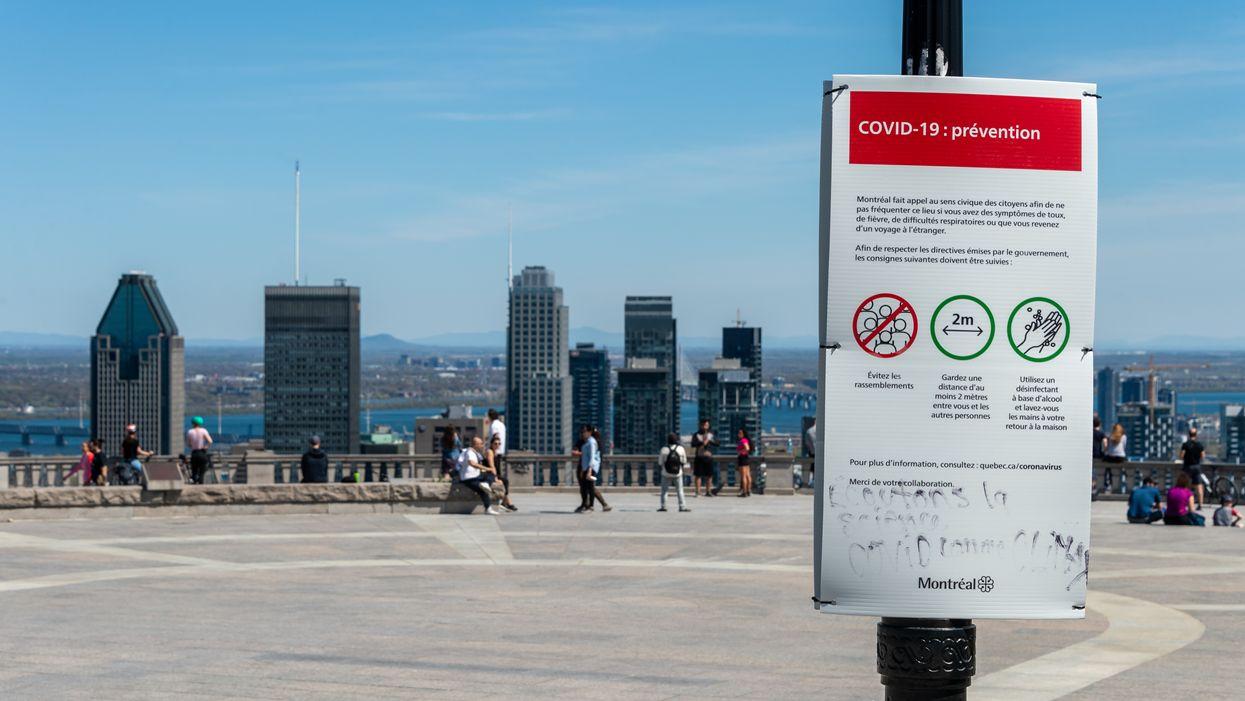 Près de 300 nouveaux cas de COVID-19 s'ajoutent à Montréal seulement