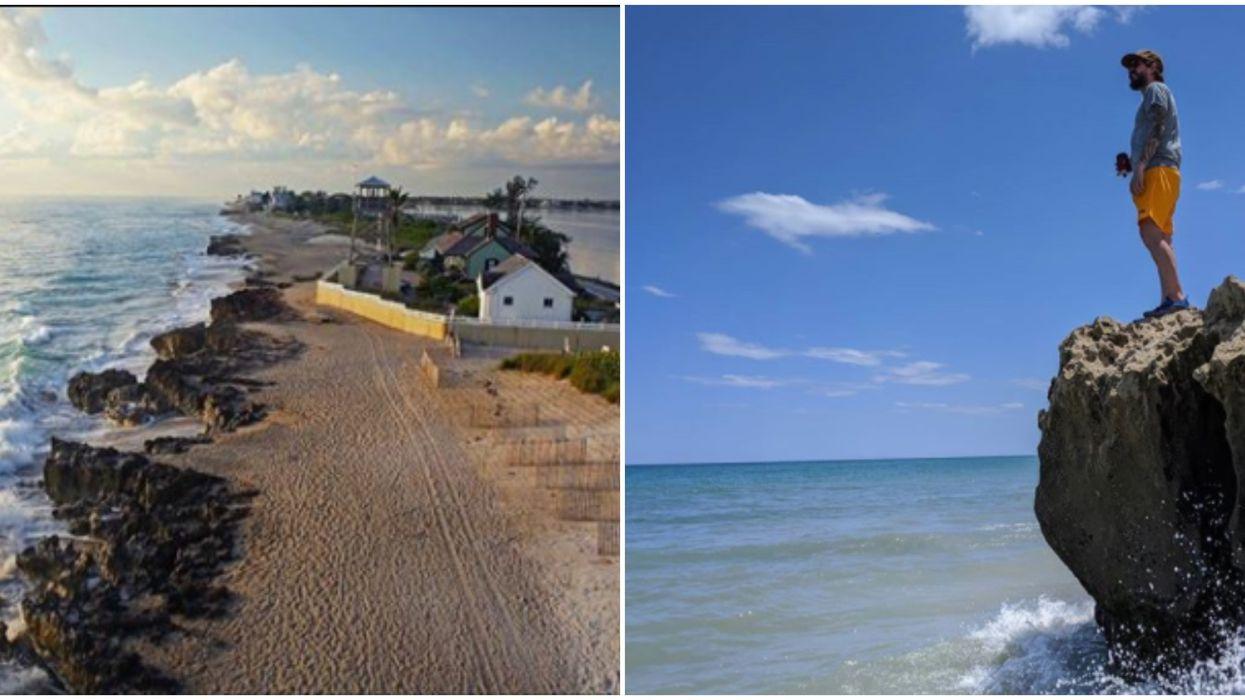 Florida Beach Ross Witham Beach Has Hidden Coves And Beautiful Views