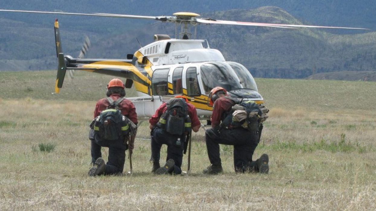 BC Firefighters Are Heading To The US To Help With Wildfires