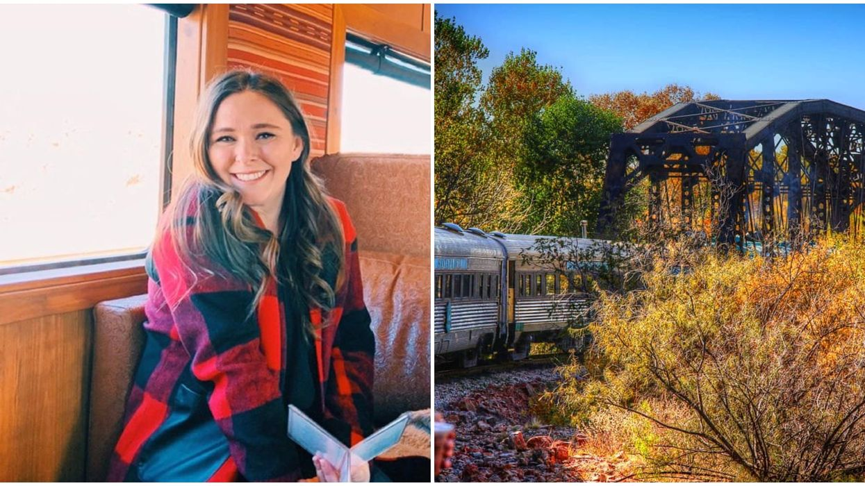 Verde Canyon Railway In Arizona Will Take You On A Magical Fall Colors Train Ride