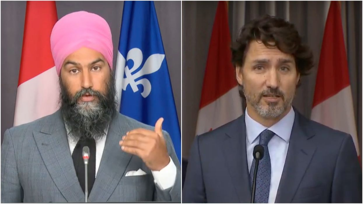 Jagmeet Singh Is Calling Out Trudeau For 'Playing Politics' Instead Of Fighting Climate Change