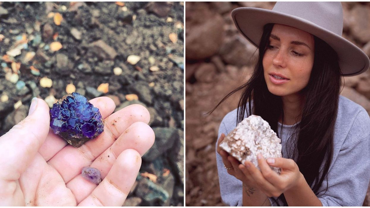 You Can Hunt For Sparkling Amethysts At This Secret Ontario Mine