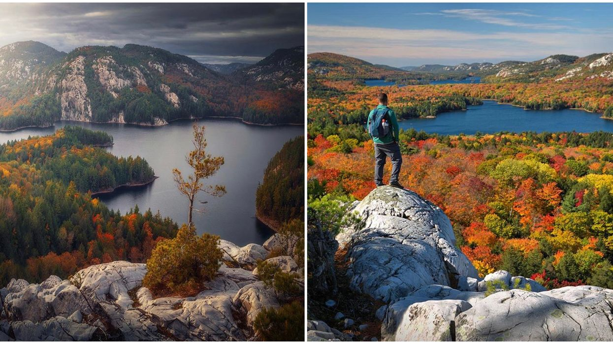 Ontario's The Crack Hiking Trail Leads To A Stunning Fall Lookout