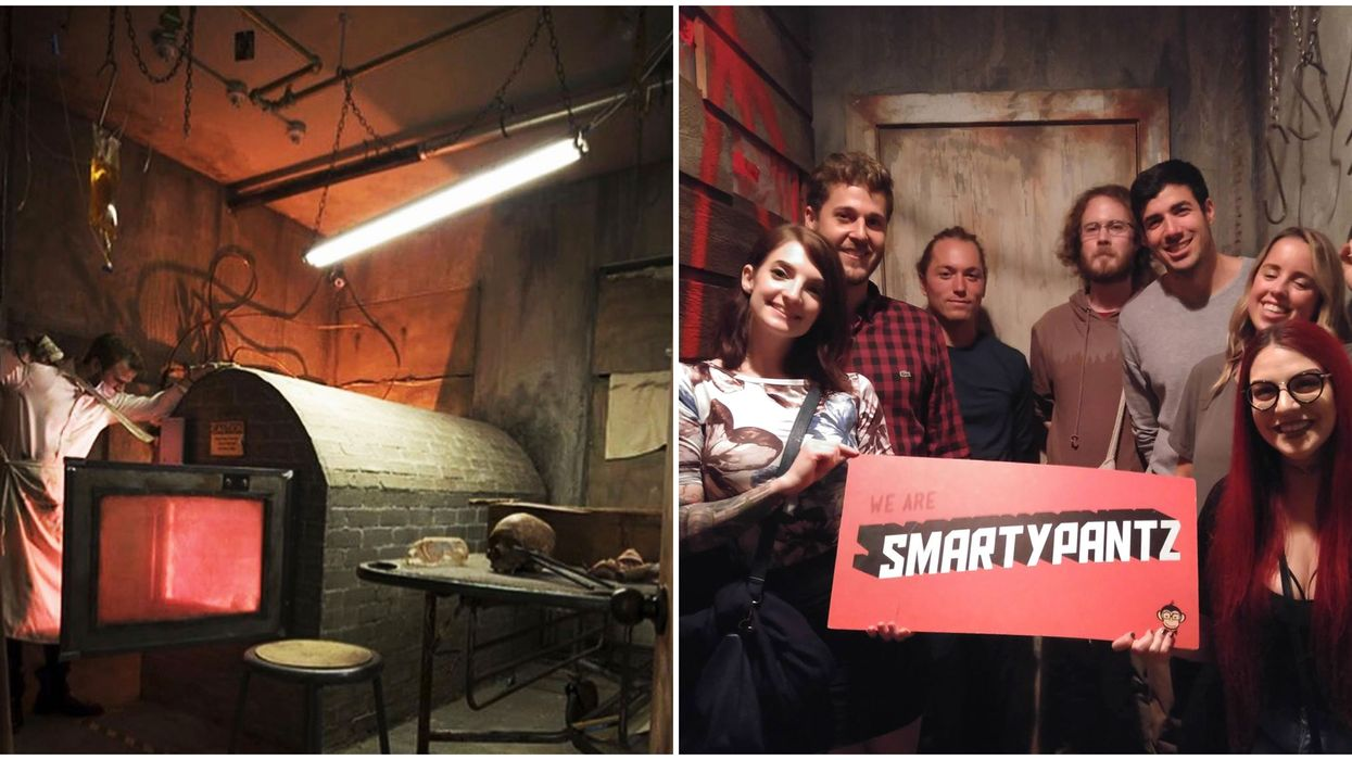 SmartyPantz Escape Rooms In Vancouver Traps You In A Cannibal's Basement & It's Perfect For Halloween
