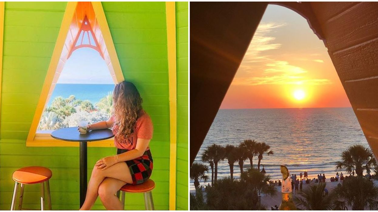 St. Pete Bar Hurricane Seafood Restaurant Gives You Stunning Sunset Views While You Dine