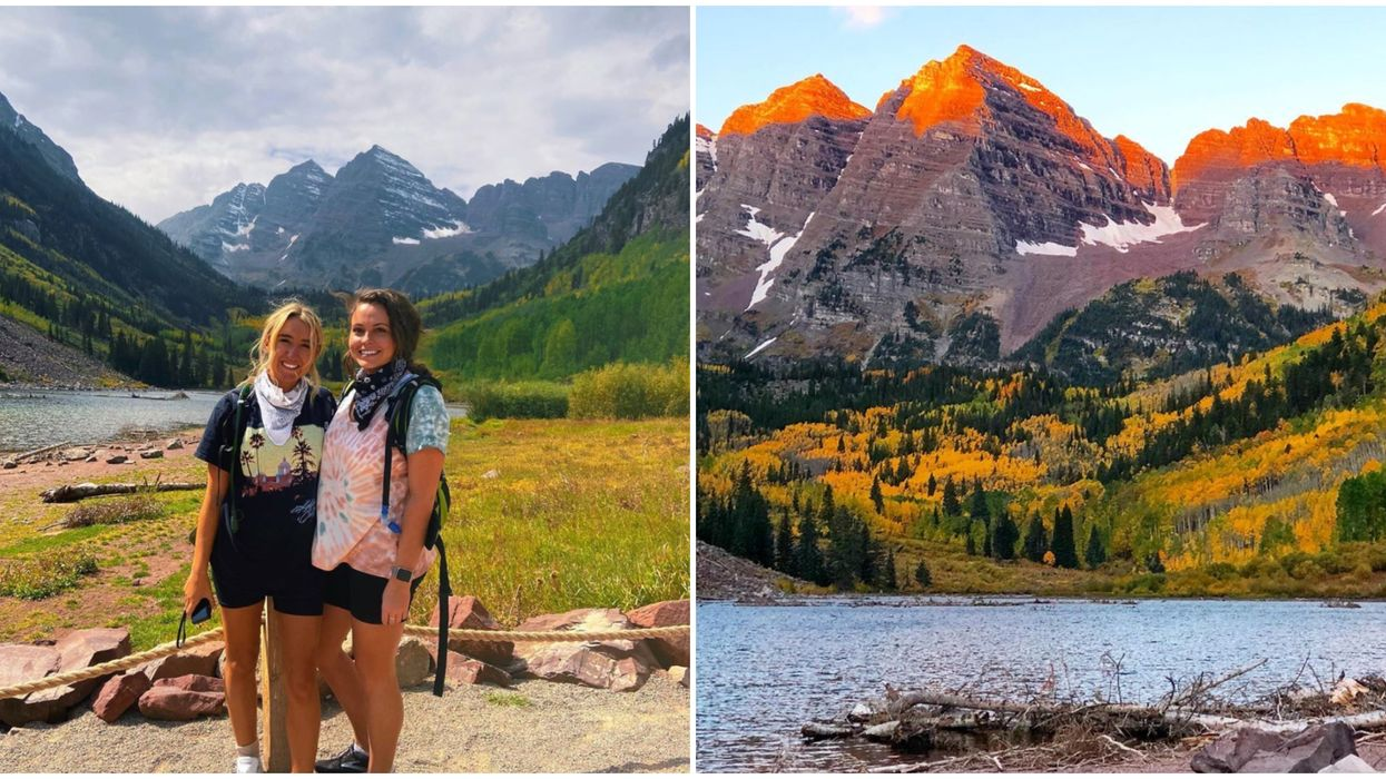 Maroon Bells In Colorado Is The Best Place To See The Fall Colors