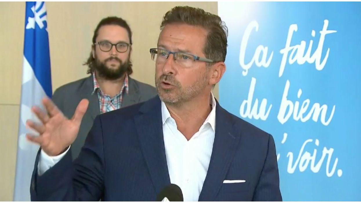 Yves-François Blanchet est déclaré positif à la COVID-19 quelques jours après sa femme