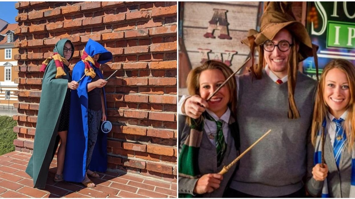 A Magical Harry Potter Scavenger Hunt Is Taking Over Calgary This Month