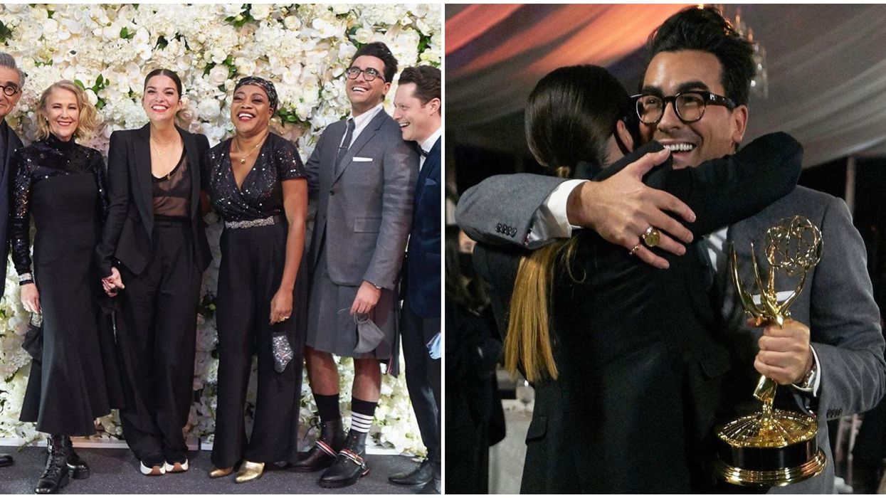 Dan Levy Is Left Speechless After His Major Win At The Emmy's Last Night