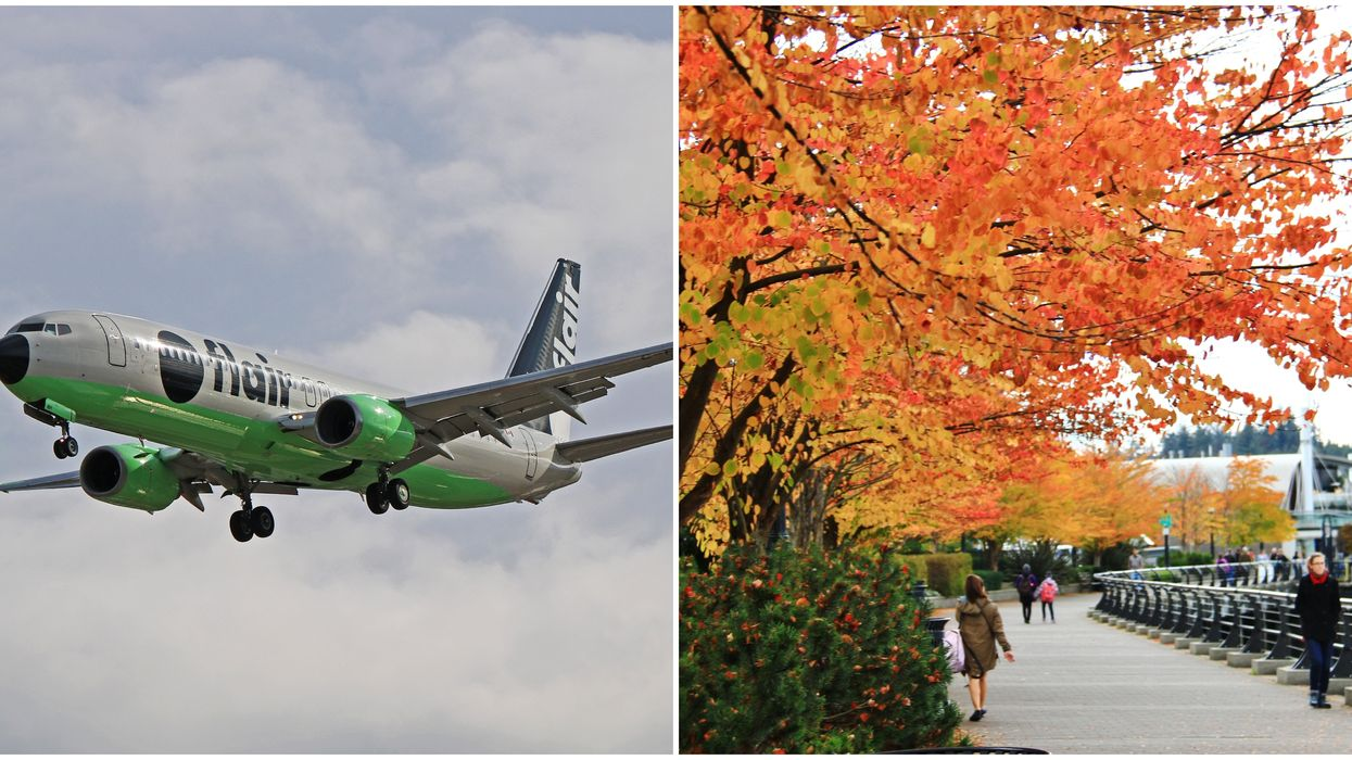 You Can Fly From Calgary To Vancouver For $59 To Kick Off Fall On The Coast