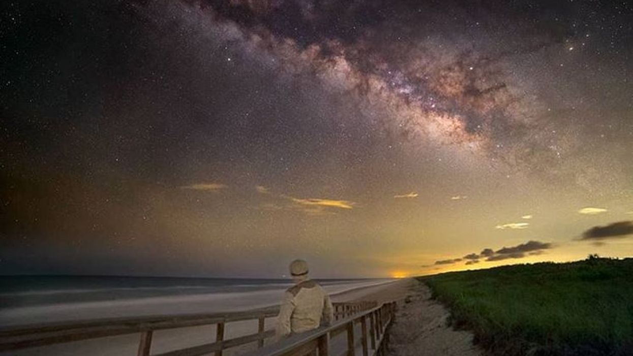 Florida Camping Spot On The Beach Canaveral National Seashore Gives You Starry Beach Views