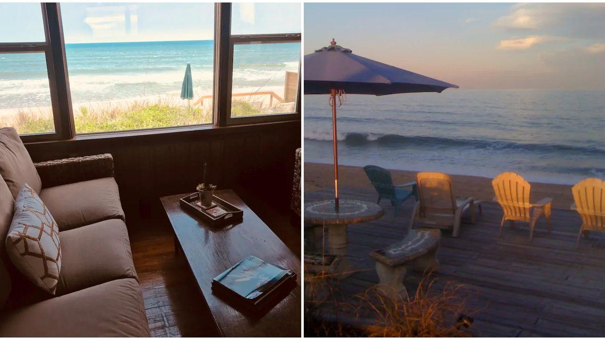 Cheap Florida Airbnb Rental Rustica Seaside Cabin Gives You Ocean Views