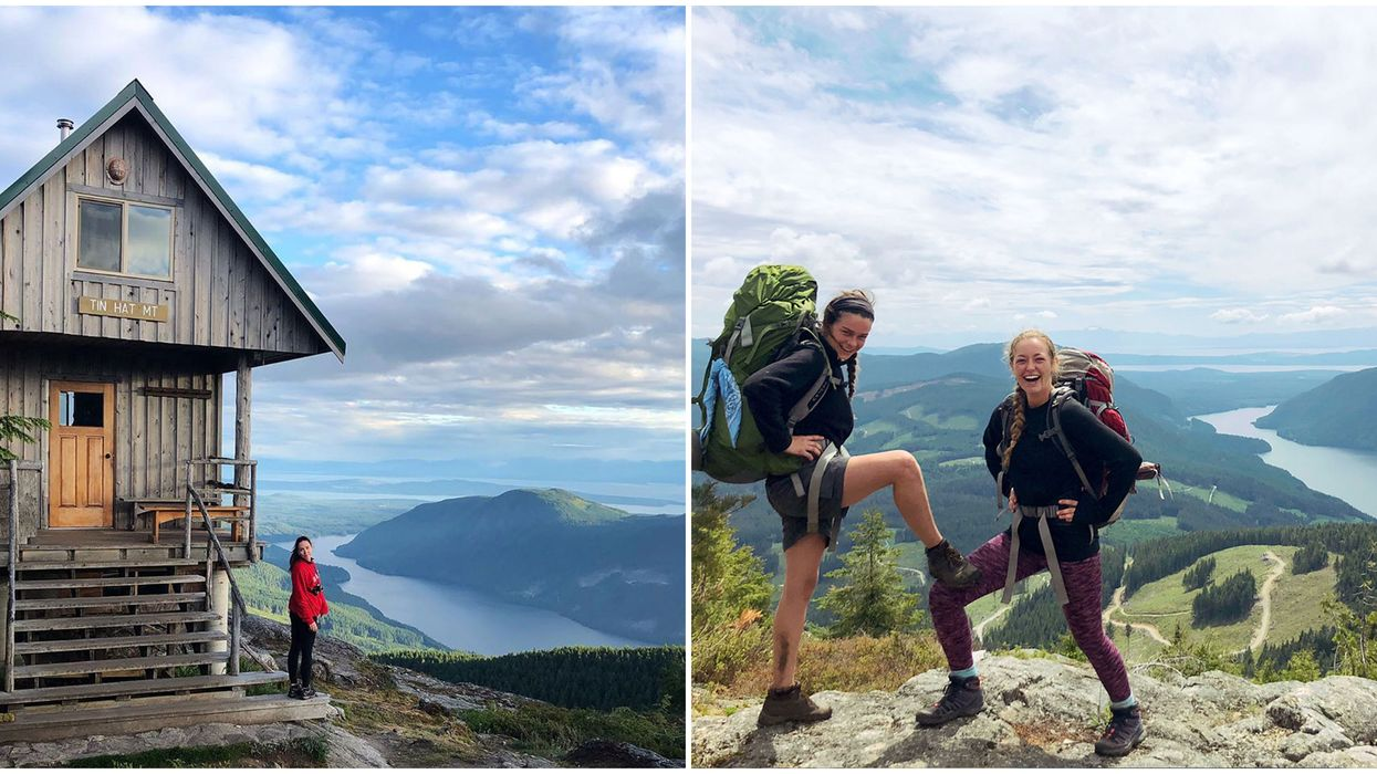 Sunshine Coast Trail In BC Has A 3 Hour Hike To Panoramic Mountain Lookout