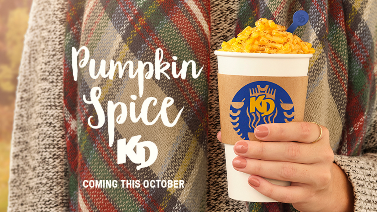 Pumpkin Spice Kraft Dinner Is Coming To Canada & KD Says They're Not Joking