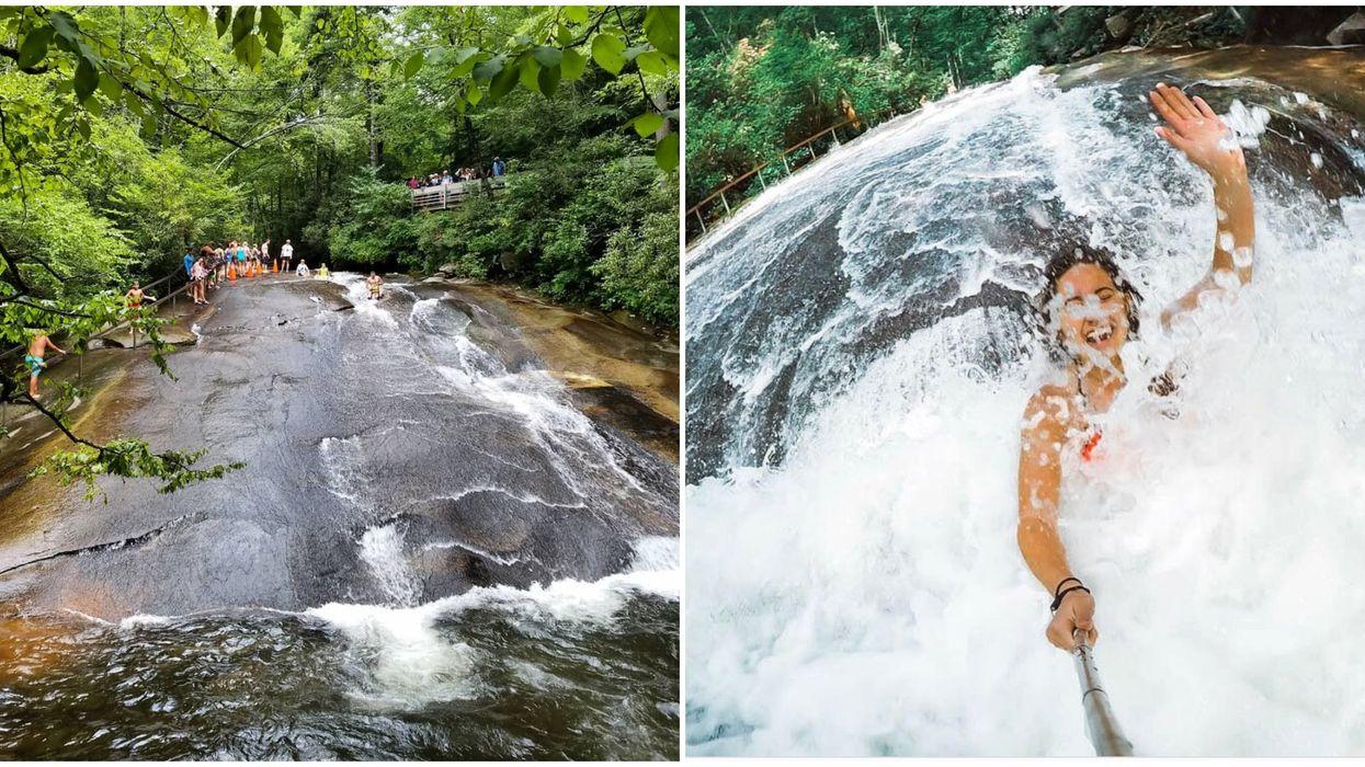 Sliding Rock North Carolina Is An Incredible Natural Water Park