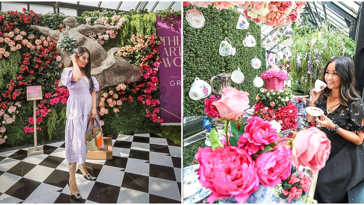 Vancouver's Magical Floral Wonderland Will Take You Down The Rabbit Hole
