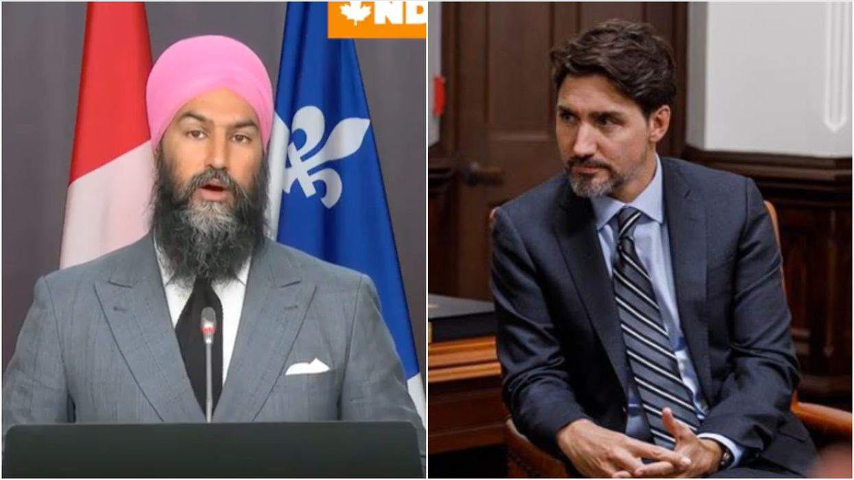 Trudeau's Throne Speech Must Include Paid Sick Leave & A CERB Extension Says Singh