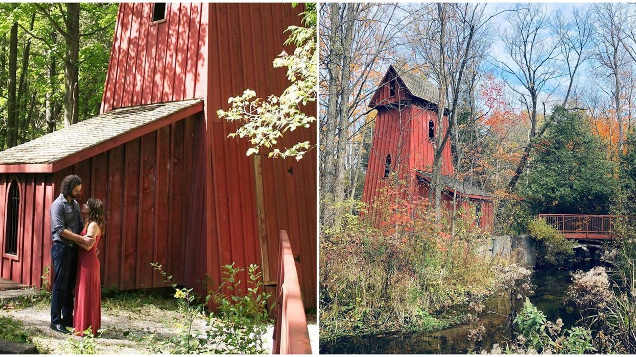 You Can Hike To This Hidden Mill Near Toronto For A Romantic Fall Date