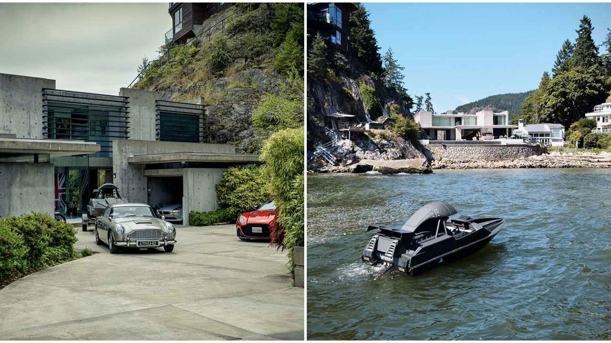 Waterfront Home For Sale In Vancouver Would Be Perfect For 007 In 'No Time To Die'