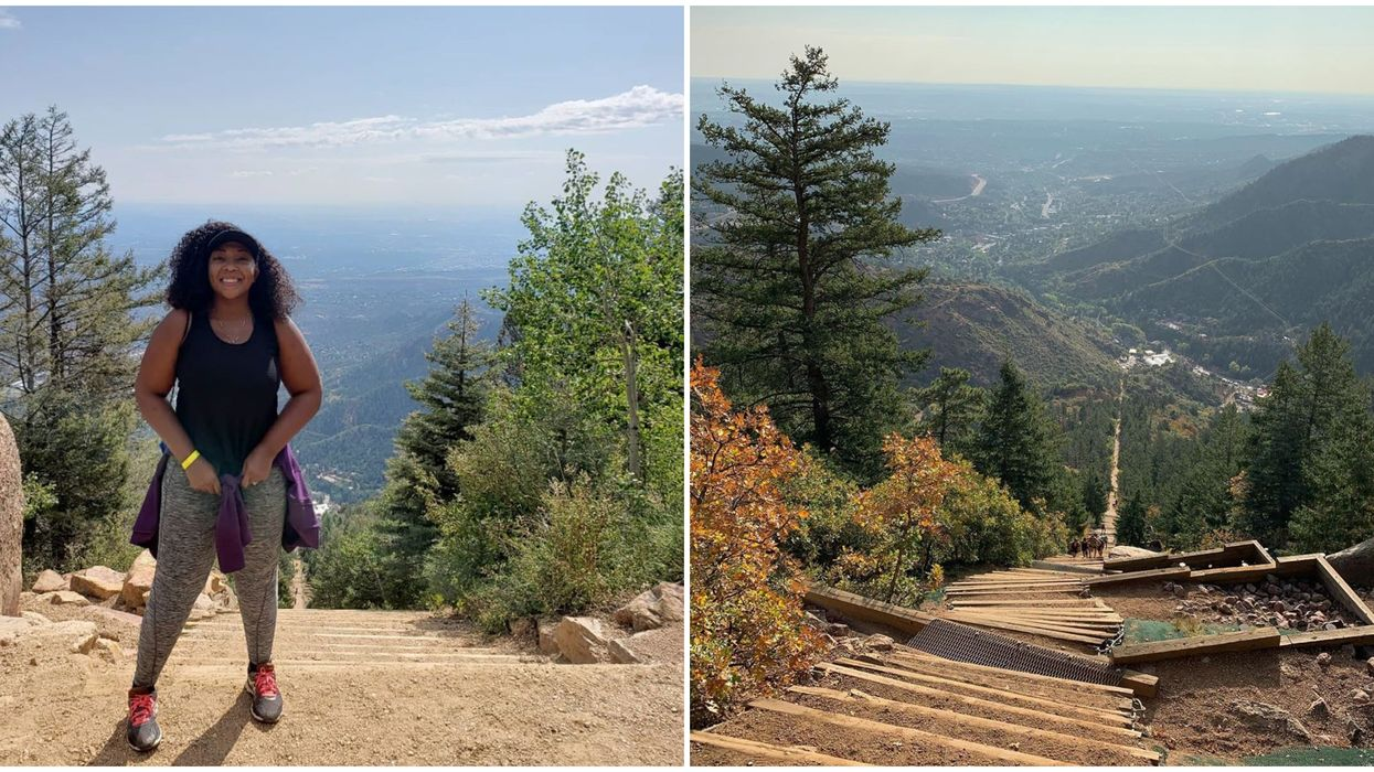 Manitou Incline In Colorado Lets You Hike Up 2,744 Steps For Free